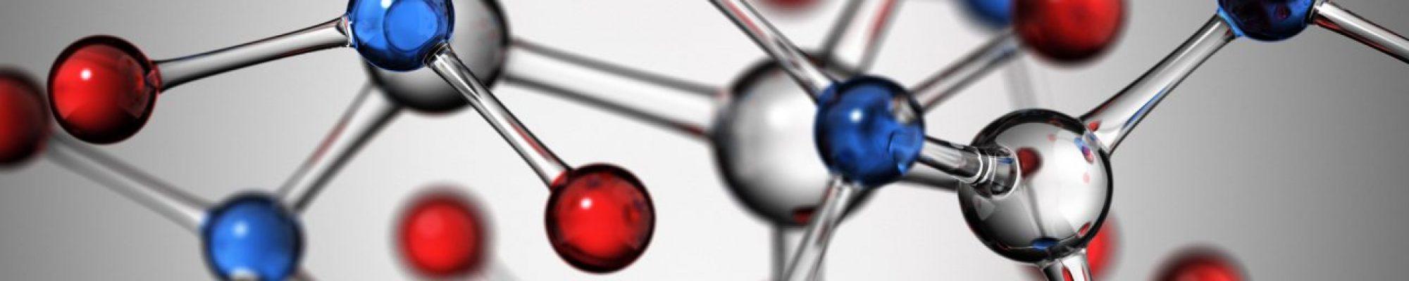 Scientific background. 3D render.